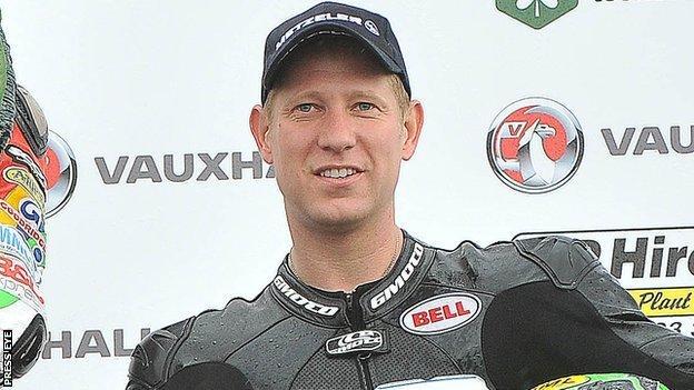 Lincolnshire rider Gary Johnson