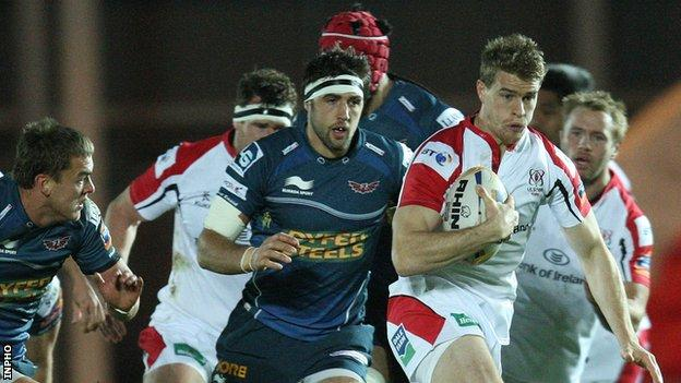 Ulster will meet the Scarlet in their opening Pro12 game at Parc y Scarlets on 6 September