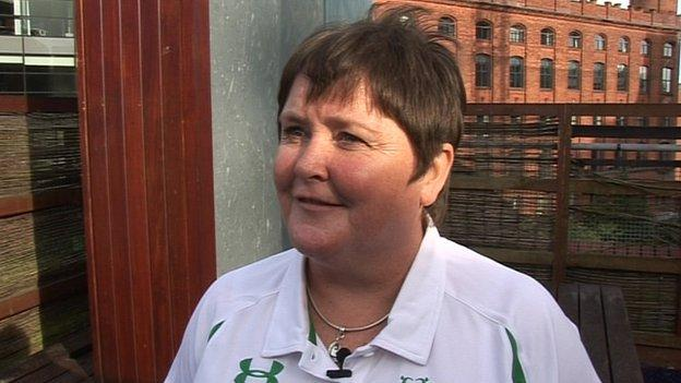 Great Britain & Northern Ireland transplant team swimming coach Janet Coleman