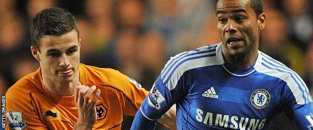 Anthony Forde and Ashley Cole