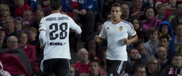 Valencia's Rodrigo Moreno