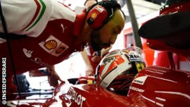 Ferrari twitter