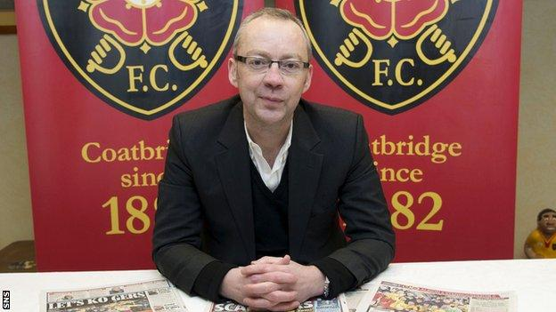 John Devlin has stepped down as Albion Rovers chairman.