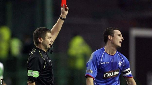 Former Fifa referee Stuart Dougal retired in 2009