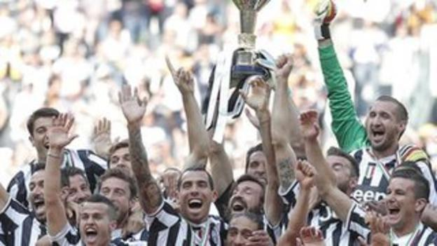 Serie A champions Juventus