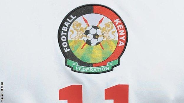 Football Kenya Federation logo
