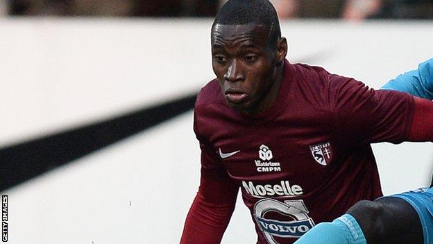 Diafra Sakho while playing for Metz