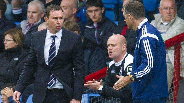 Ross County manager Derek Adams felt individual mistakes led to defeat to Kilmarnock.