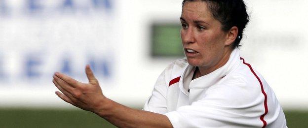 Jo Yapp - 2006 captain
