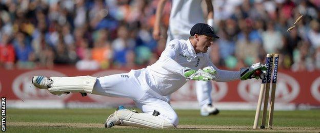 England's Jos Buttler