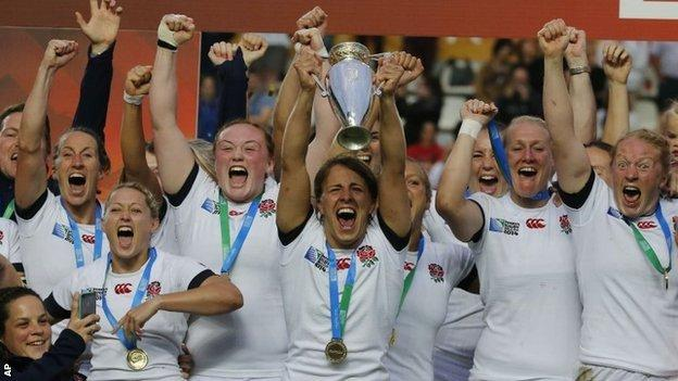 England captain Katy Mclean wins World Cup