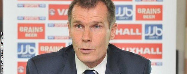 Wales coach Jarmo Matikainen