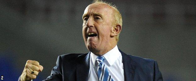 Huddersfield caretaker Mark Lillis