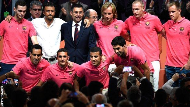 Barcelona's summer signings August 2014