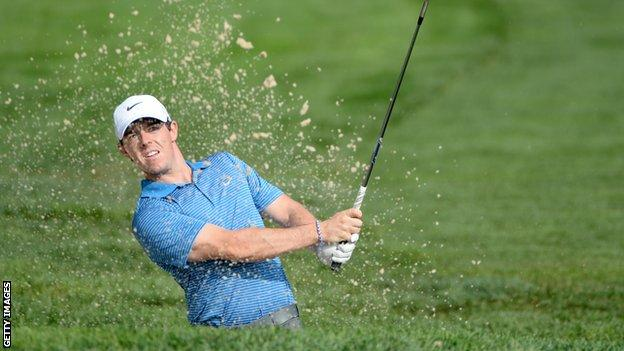 Rory McIlroy hopes to finish his best ever season on a high