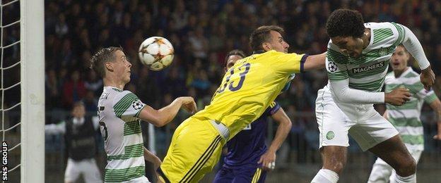 Stefan Johansen blocked a net-bound header from Virgil van Dijk