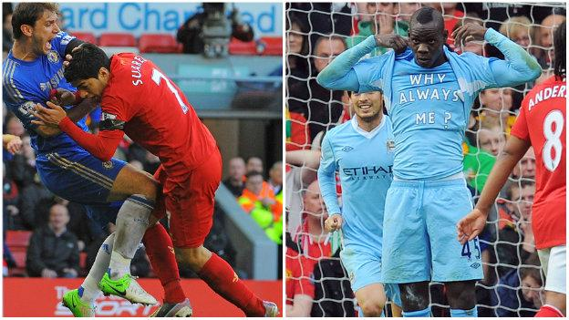 Luis Suarez and Mario Balotelli