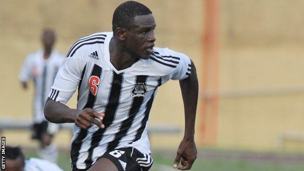 TP mazembe's Salif Coulibaly