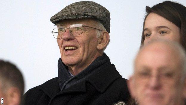 Former SFA President and Celtic chairman Jack McGinn
