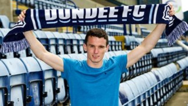 Dundee defender Paul McGinn