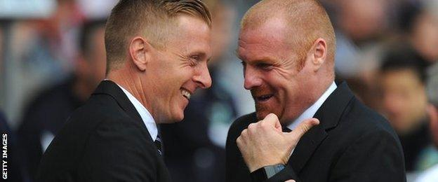 Garry Monk and Sean Dyche