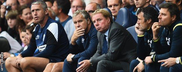 QPR manager Harry Redknap