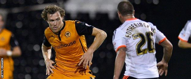 Kevin McDonald has been rewarded for his fine form with Wolves