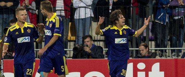 Maribor have been beaten at this stage of the tournament in the last two years