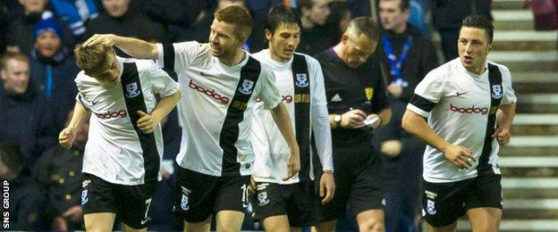 Ayr United visit Rugby Park in the League Cup