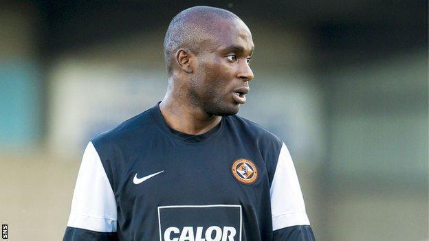 Dundee United striker Kudus Oyenuga