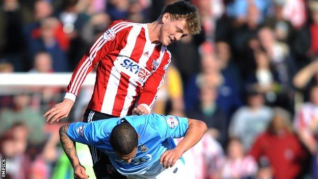 George Saville scored four goals in 44 appearances on loan with Brentford last season