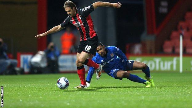 Brett Pitman of Bournemouth