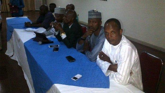 NFF members met on Tuesday