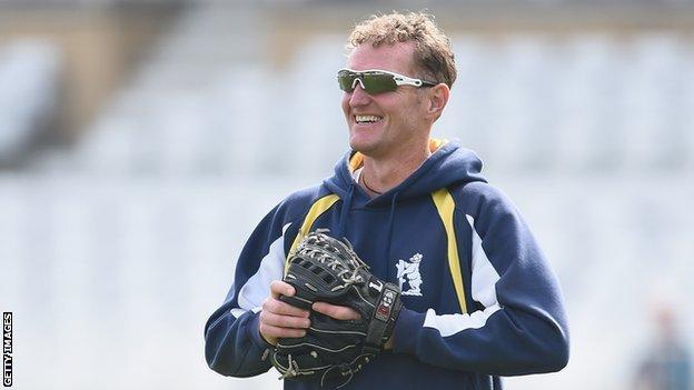 Bears director of cricket Dougie Brown