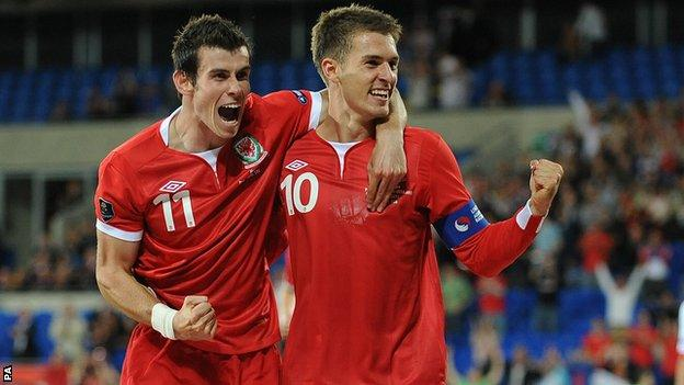 Gareth Bale and Aaron Ramsey are two of Wales' world-class players