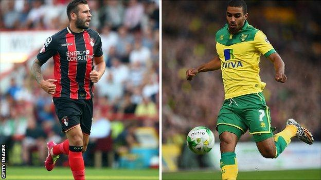 Steve Cook and Lewis Grabban