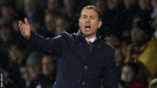 Derek Adams had two spells in charge at Ross County