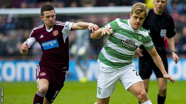 Hearts visit Celtic in the League Cup