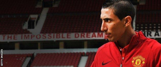 New Manchester United signing Angel Di Maria