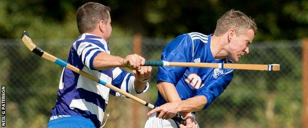 Newtonmore overcame Kyles Athletic to win the cup
