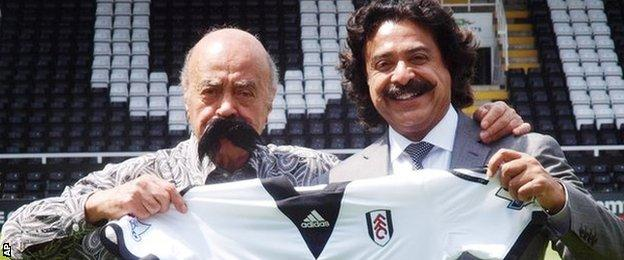 Mohamed Al Fayed (left) and Shahid Khan