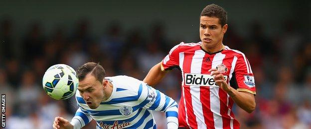 Jordan Mutch heads the ball with Jack Rodwell in attendance