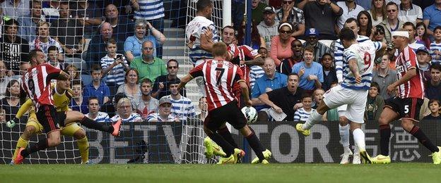Charlie Austin scores for QPR