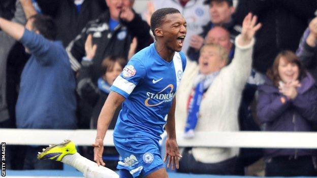 Kgosi Ntlhe scored Peterborough's second goal