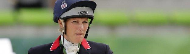 Zara Phillips was 11th in her first major event since the birth of her baby daughter in January