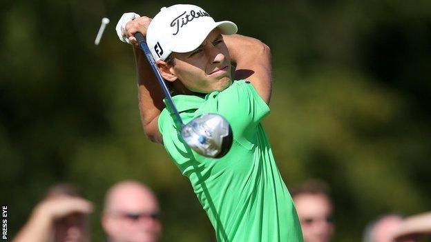 Joakim Lagergren won the Northern Ireland Open by one shot