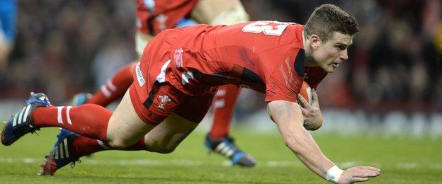 Scott Williams suffered a serious shoulder injury playing for Wales in the 2014 Six Nations