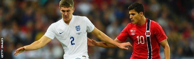 England's John Stones