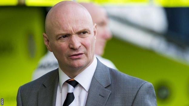 Dundee United chairman Stephen Thompson