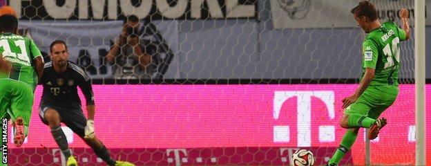 Borussia Mönchengladbach forward Max Kruse